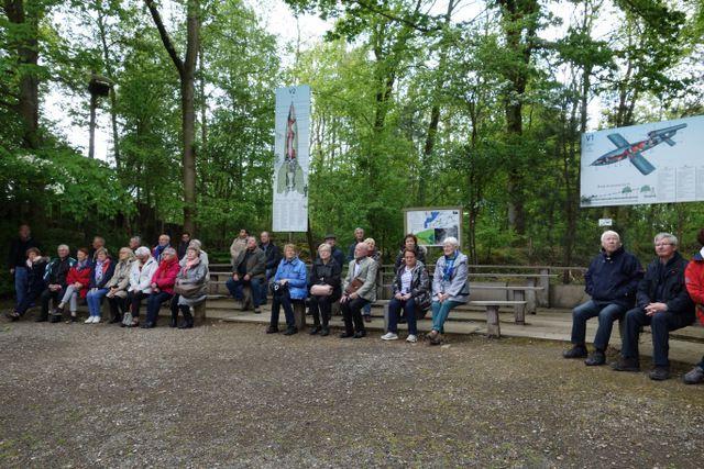La visite du Blockaus d'Eperlecques et de la Forteresse de Mimoyeques le Jeudi 9 Mai