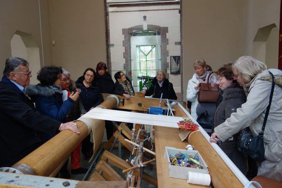 Après-midi: Manufacture nationale de la tapisserie à Beauvais
