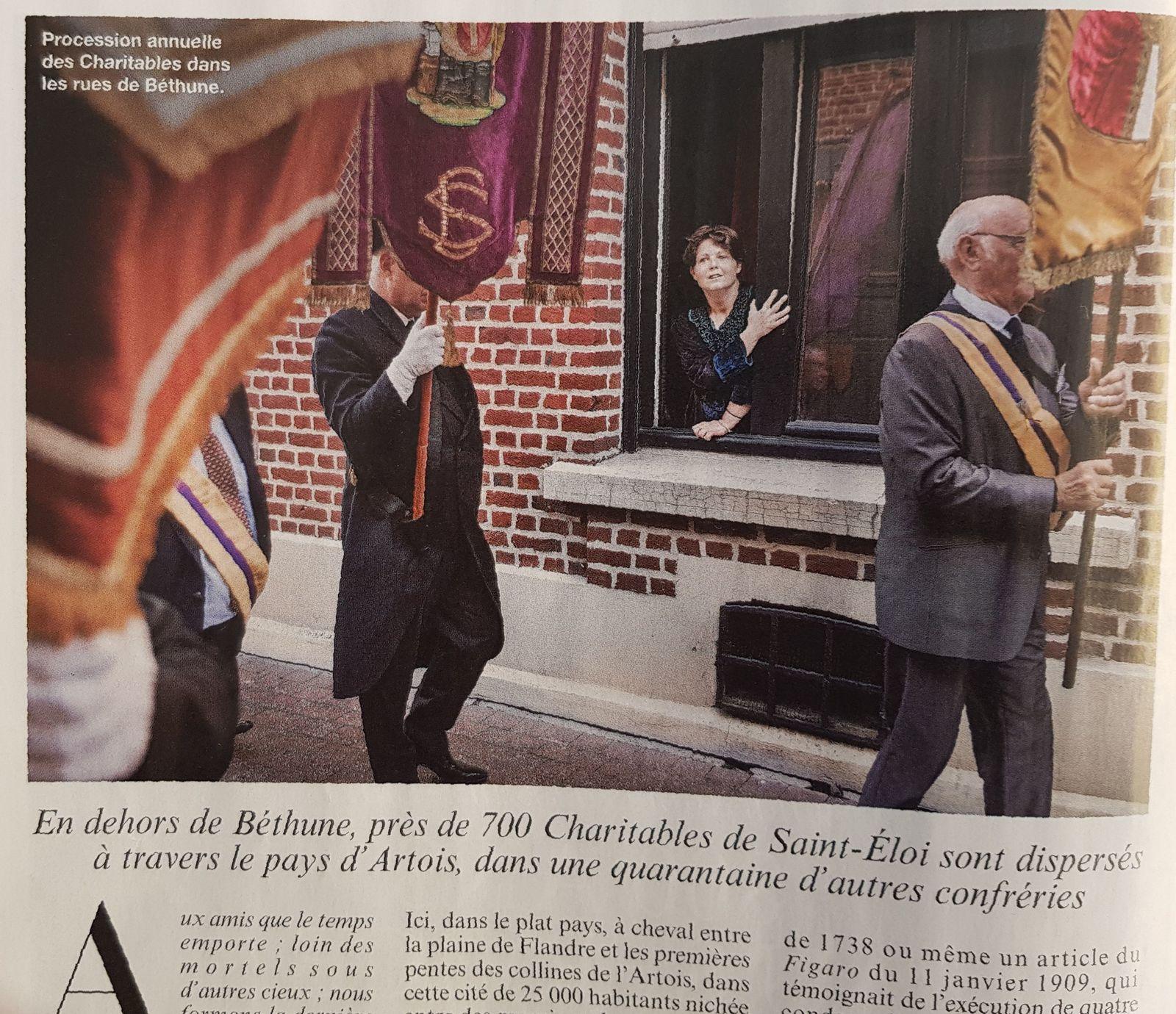 Les Charitables: 9 pages dans le Figaro Magazine