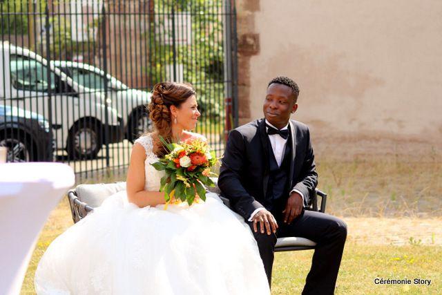 Cécile et Abdel, un peu de France, un peu d'Afrique… Beaucoup d'amour!