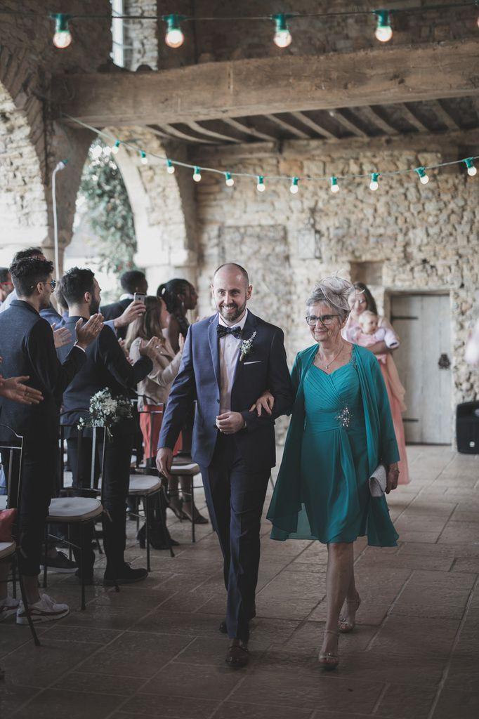 L'entrée du marié