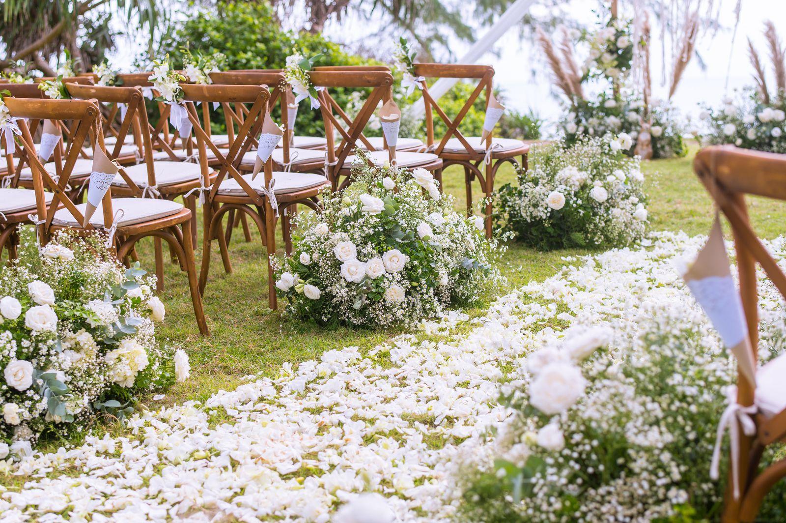 Décoration cérémonie laïque de mariage