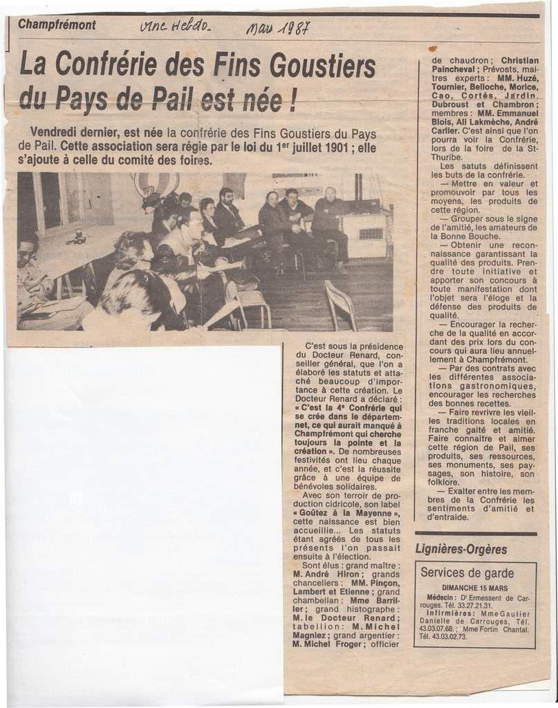 L'Orne Hebdo, mars 1997