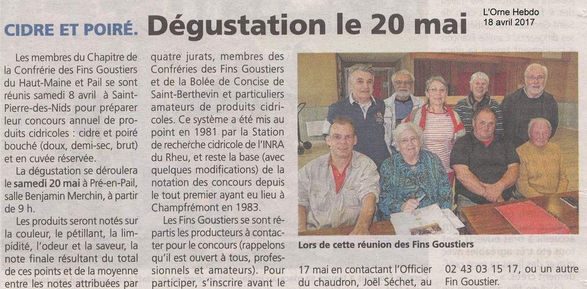 L'Orne Hebdo du mardi 18 avril.
