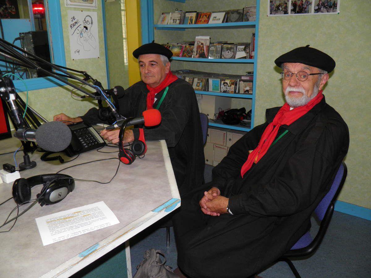 Les Fins Goustiers à Radio Alpes Mancelles en juin 2017