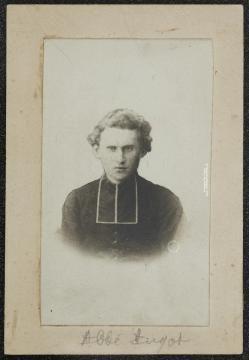 L'unique photo connue de l'abbé Angot vers 1870.