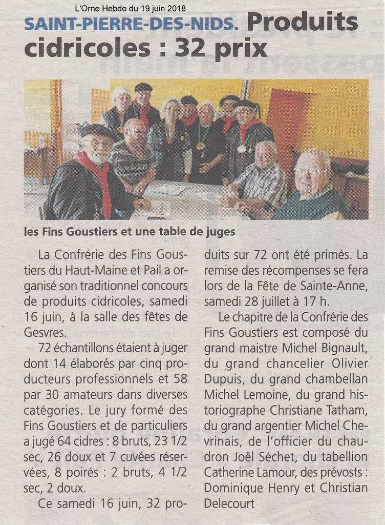 L'Orne Hebdo du 19 juin 2018.
