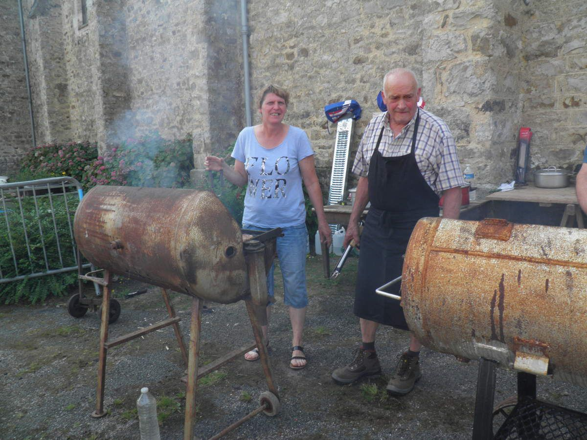 Barbecue de Saint-Julien en aout 2018