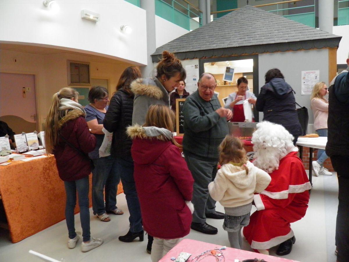 Marché de Noël 2019 à l'EHPAD de Saint-Pierre-des-Nids