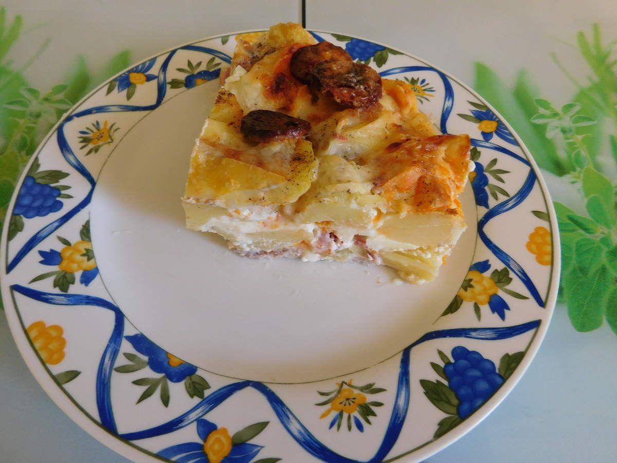 Gâteau montagnard (salé)