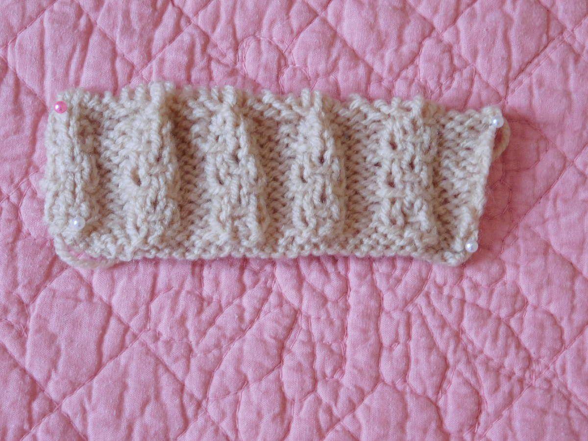 TUTO :  points de tricot