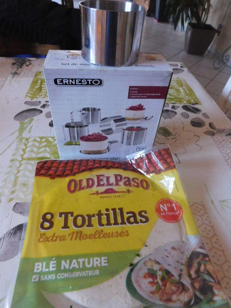Petites tortillas pour apéro