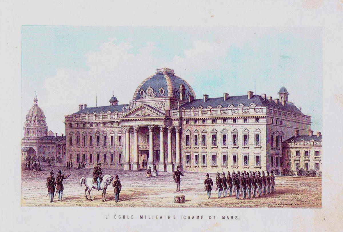 Champ de Mars - Ecole militaire.