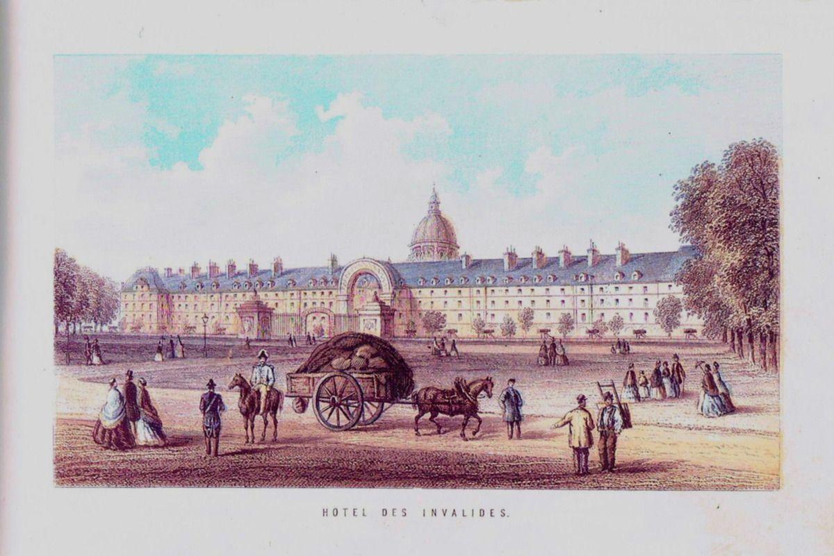 L'hôtel des Invalides.