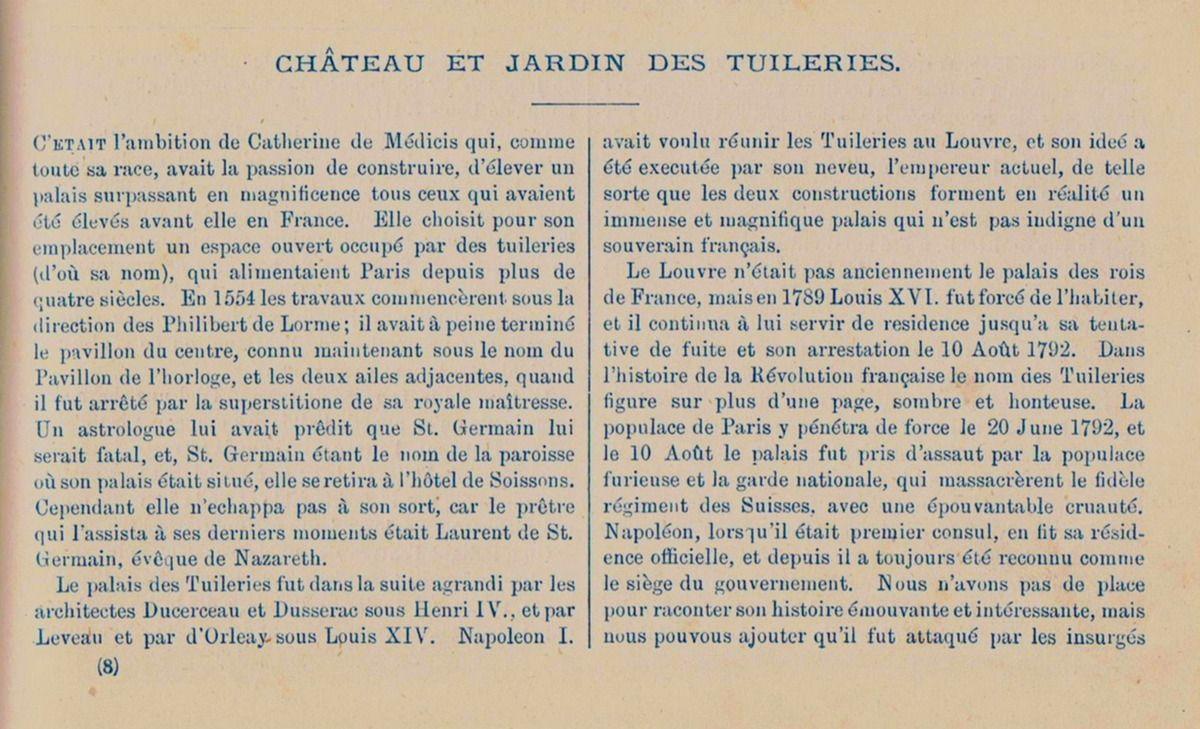 Château et Jardin des Tuileries