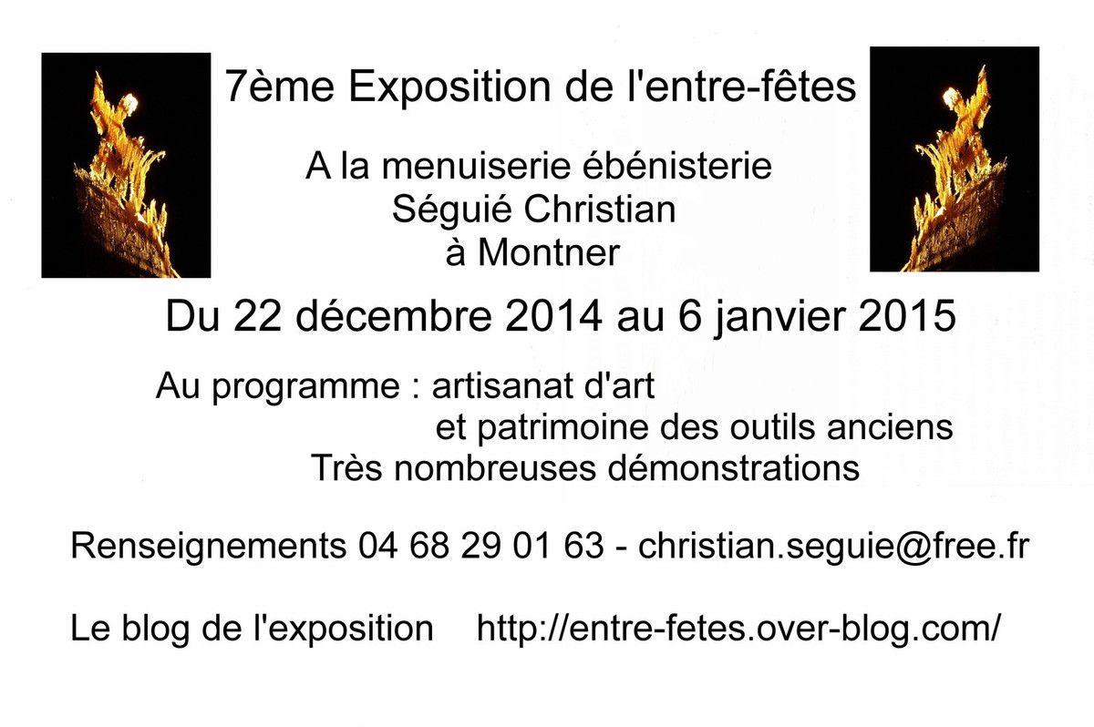 L'exposition qui termine et commence l'année en beauté artisanat d'art et d'antan sans oublier les outils anciens
