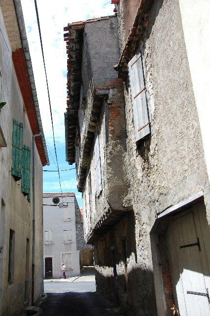 Toutes les maisons à colombages ont été prises en photo.