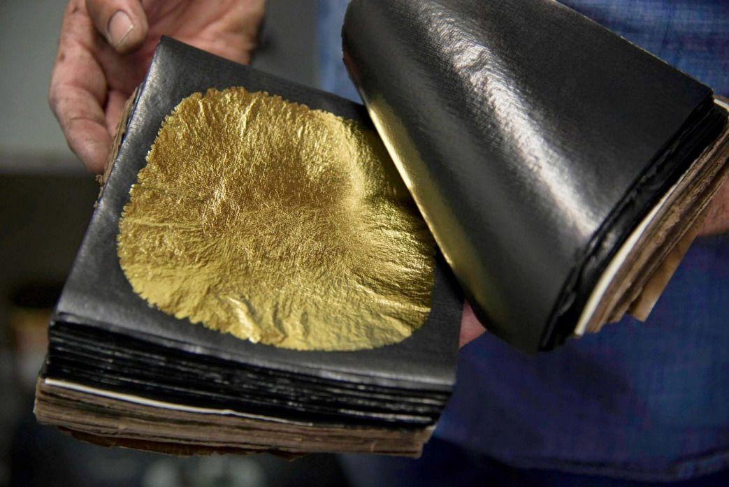 La feuille d'or.