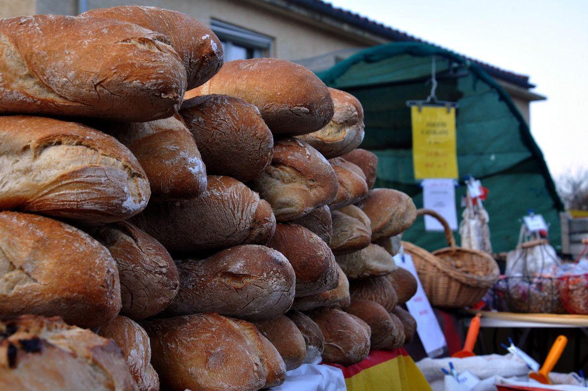 Des pains artisanaux.