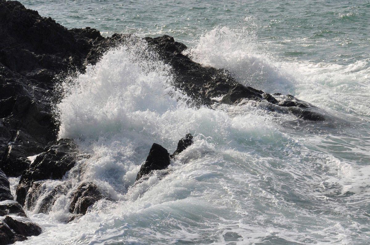 Une belle vague.
