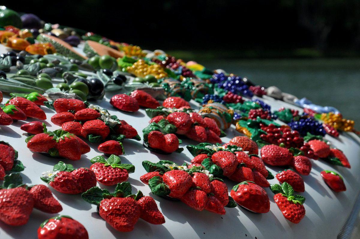 Les magnets fraises mais pas que.
