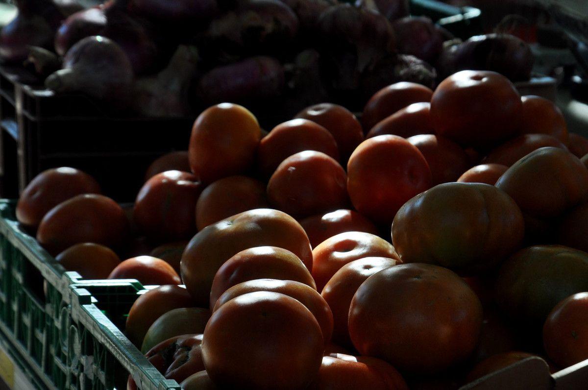 Les tomates.