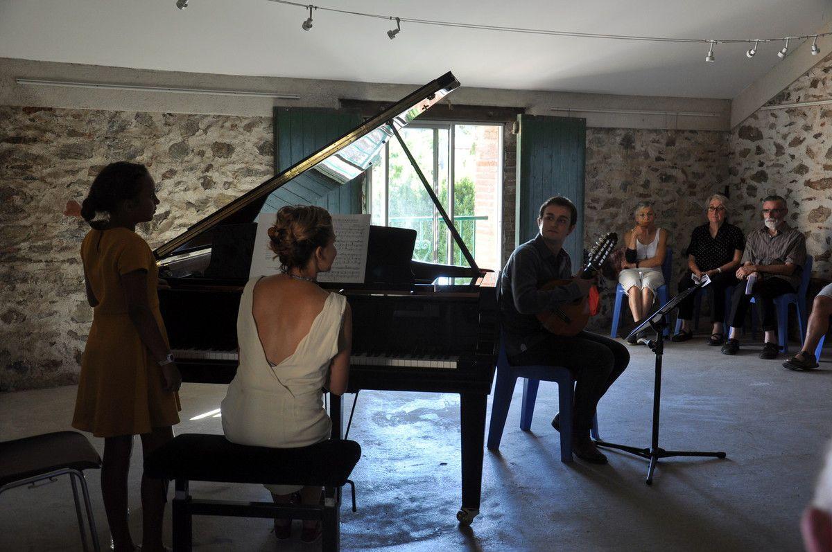 """Margot Xuriguera au piano pour finir le festival """"Arpèges en Fenouillèdes"""""""