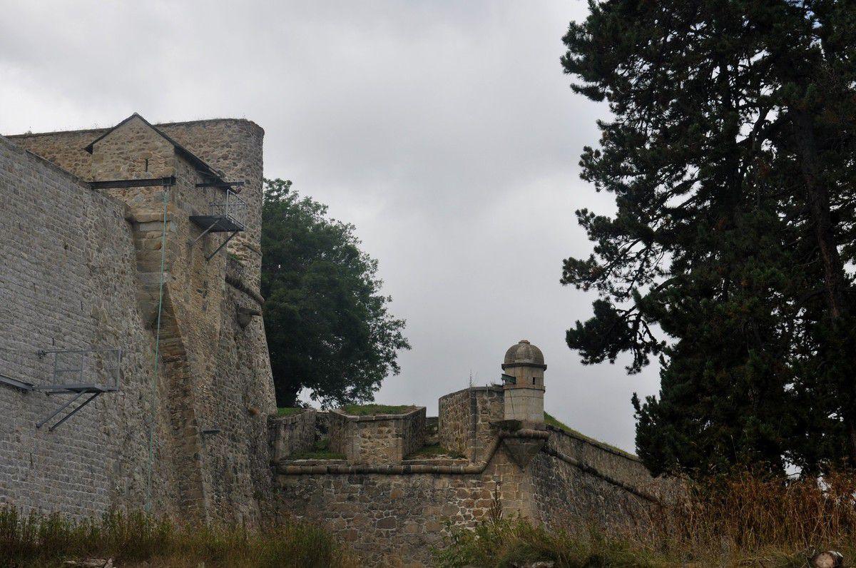 Le tour des remparts.