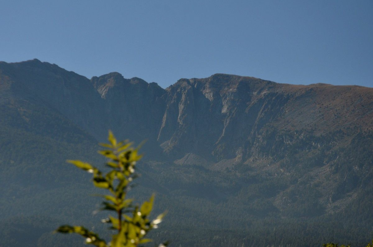 Il jour je monterai sur cette si belle montagne.