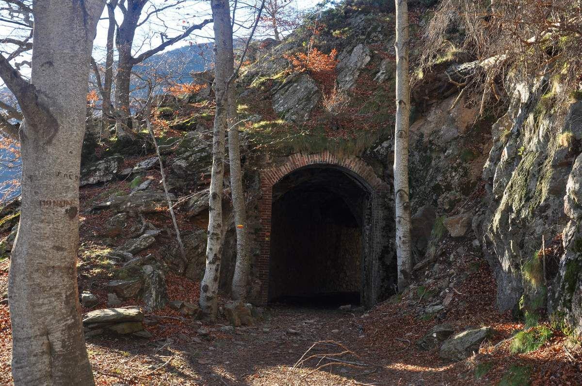 Le tunnel en vue.