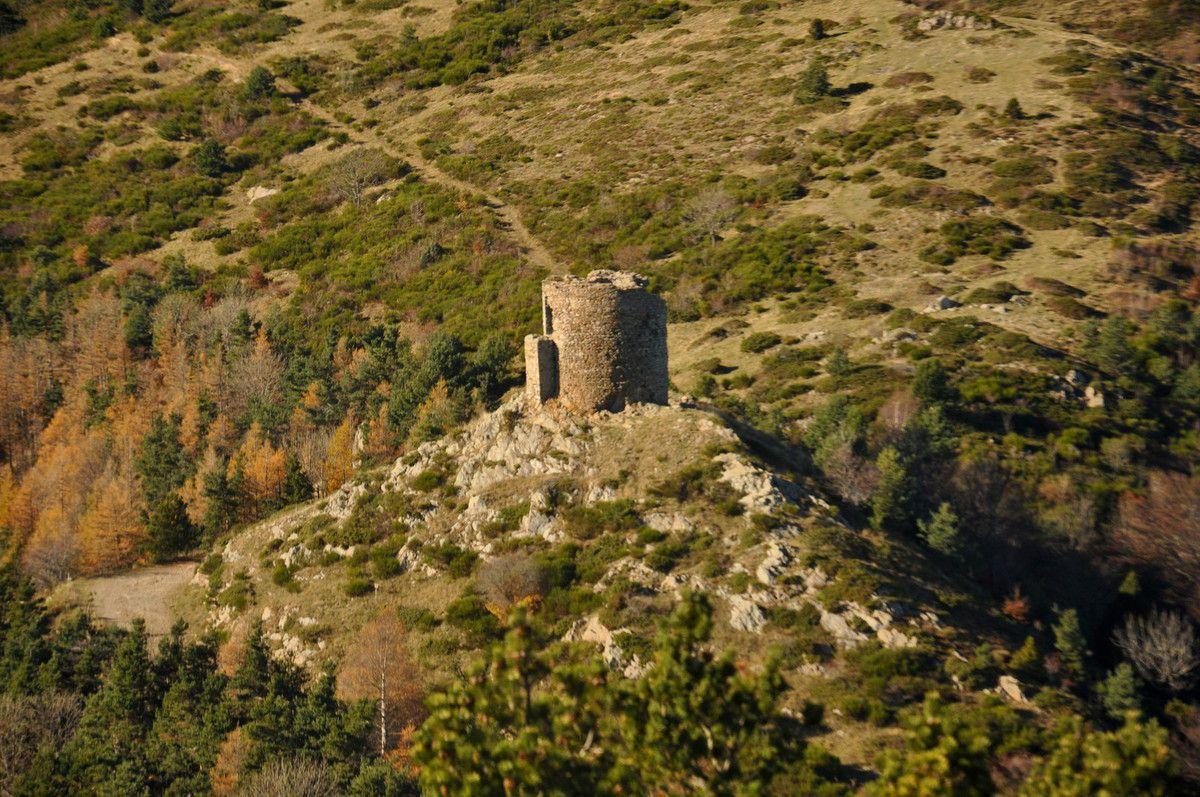 La tour de Batère.