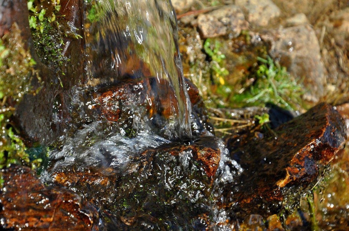 De la très bonne eau claire du massif du Canigou