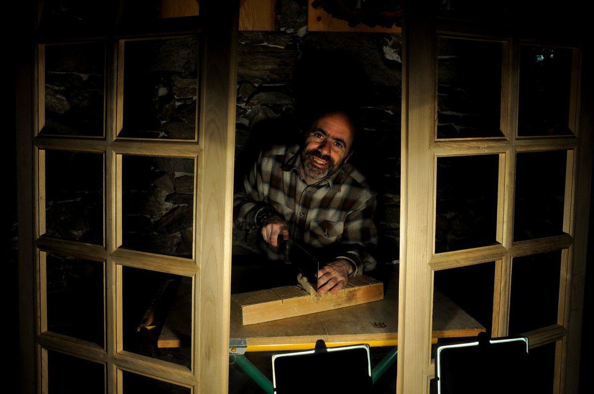 Ouvrir la fenêtre et voir la démonstration avec de l'olivier.