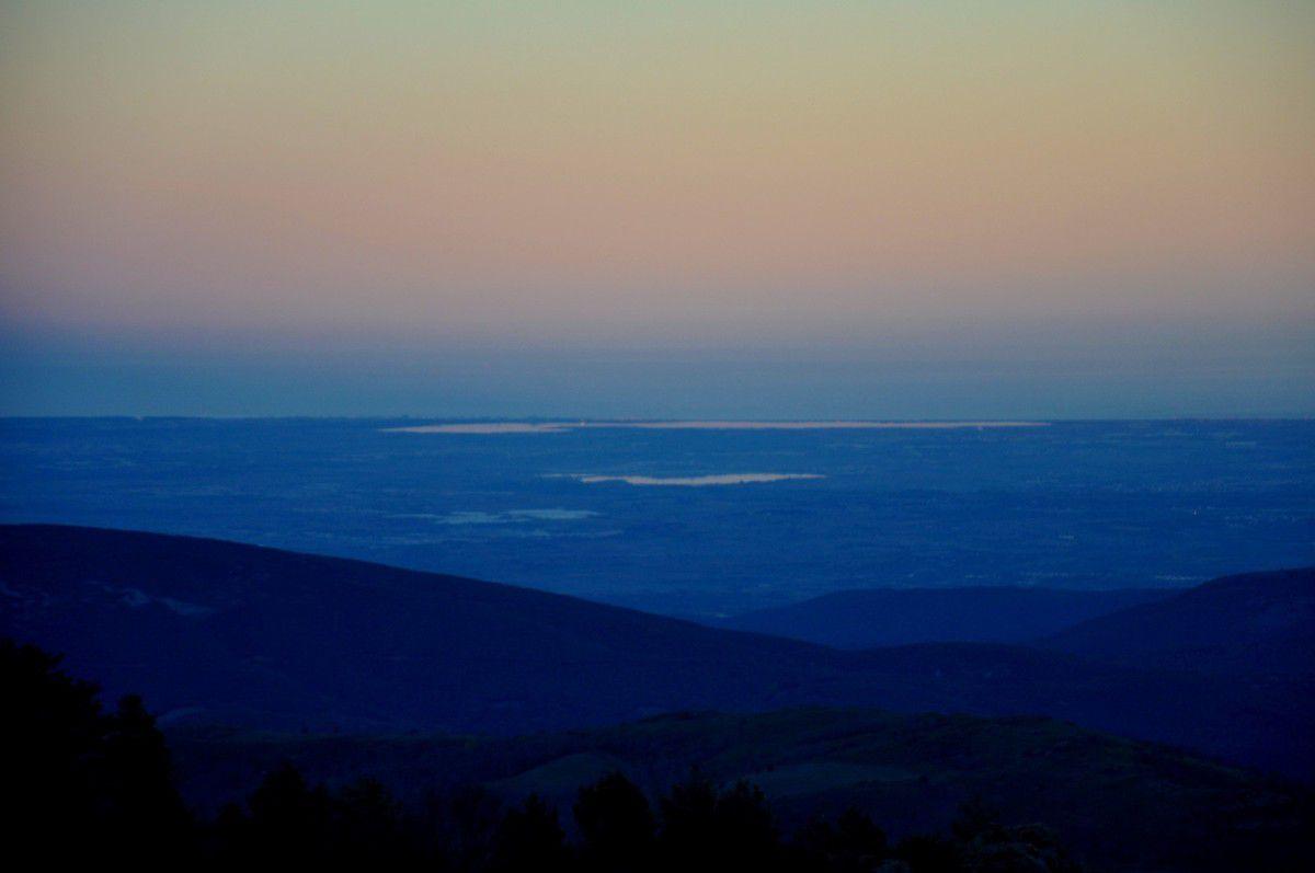 La plaine et les Albères.