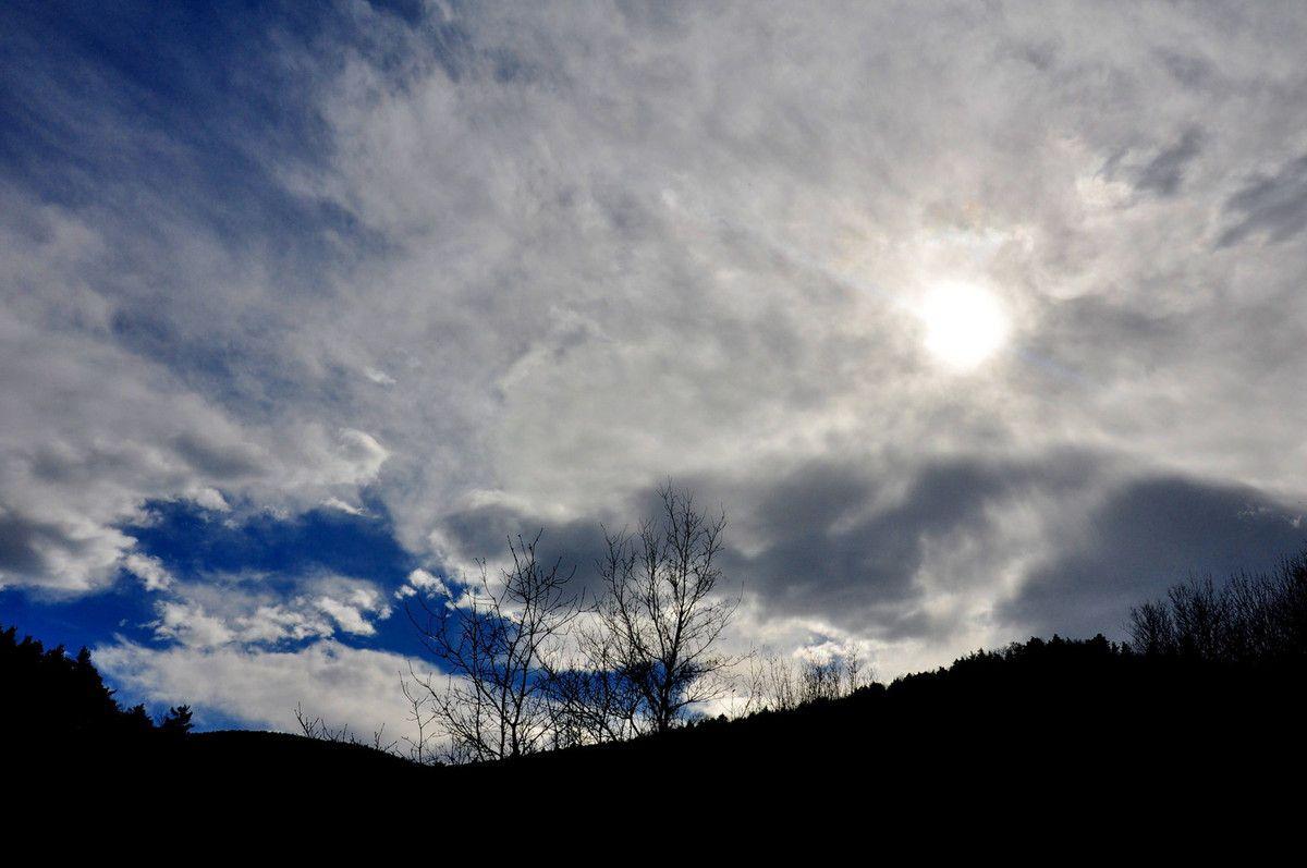 Ciel de samedi après-midi