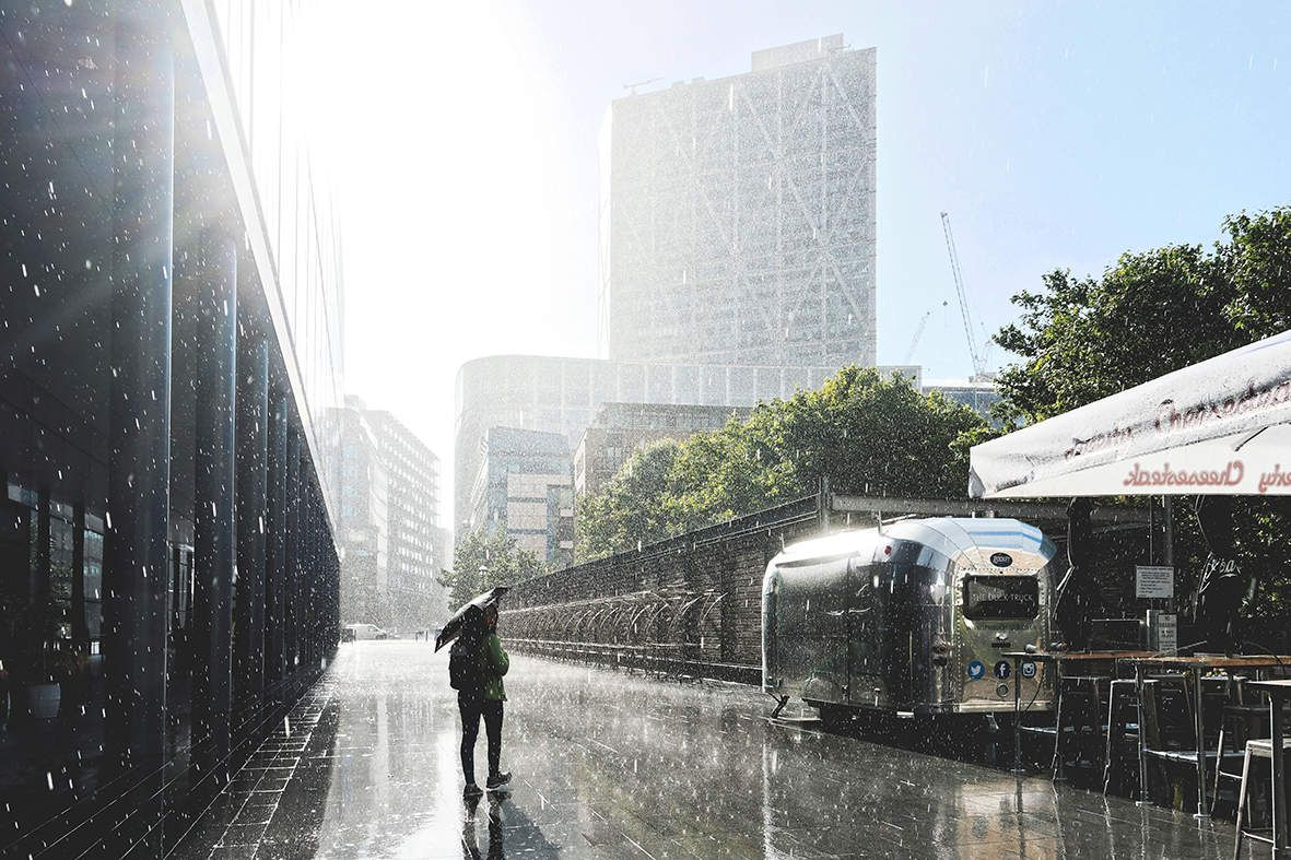 Instant sous la pluie Kioro
