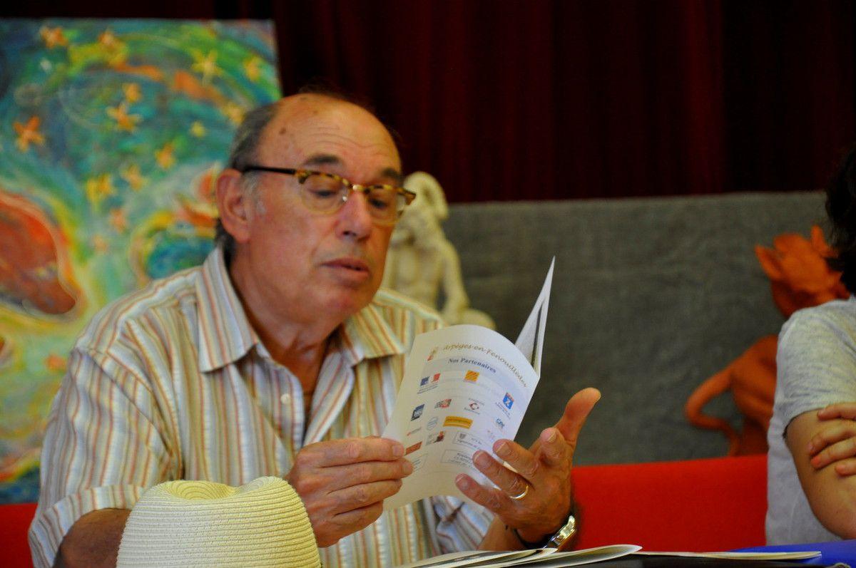 Demander le programme avec le président Gilles Berard