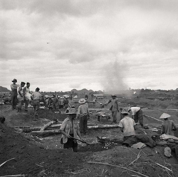 Na-Sam - Camp retranché - Indochine1952