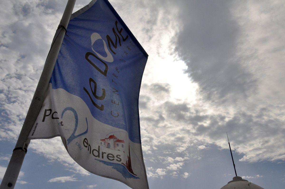 Le drapeau du dôme