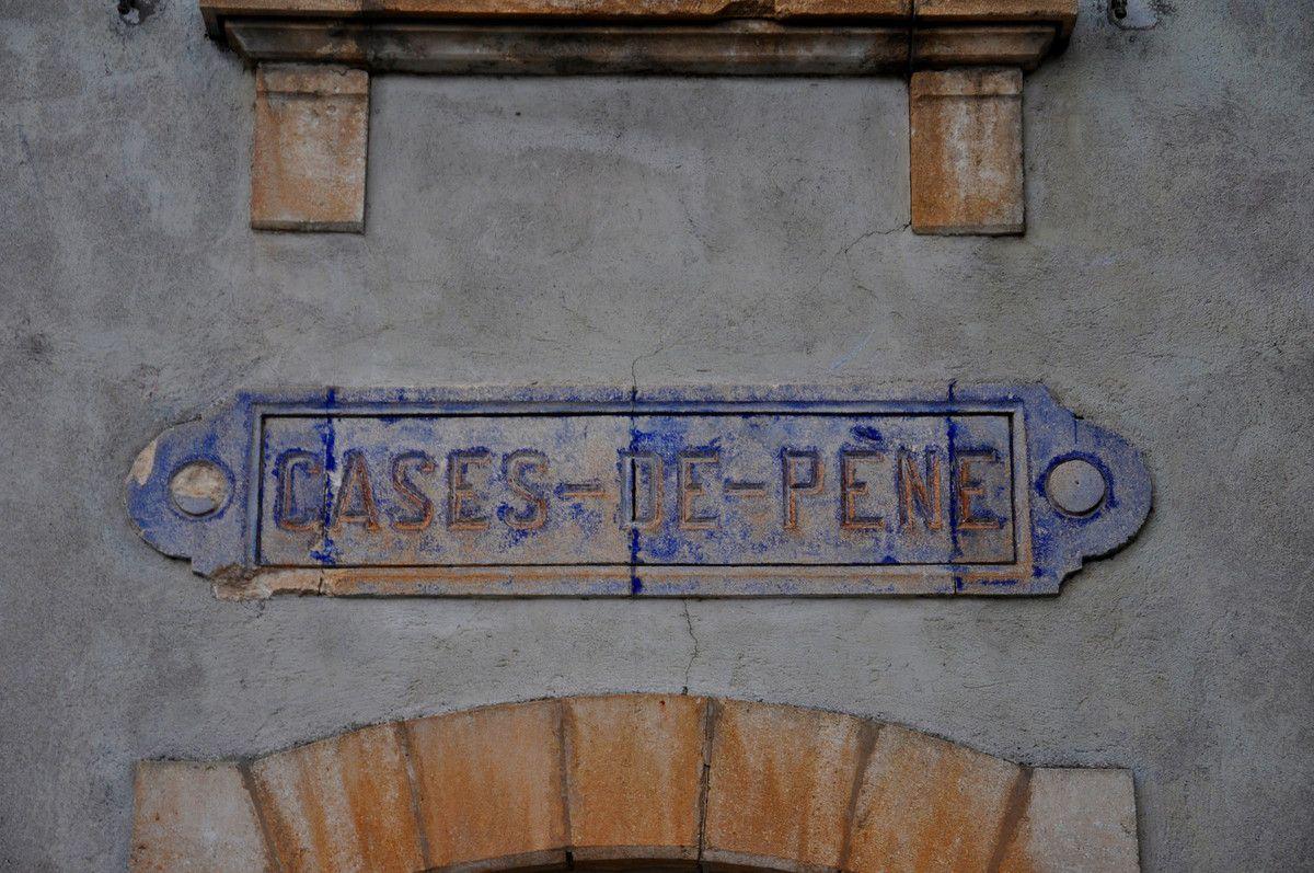La gare de Cases de Pène.