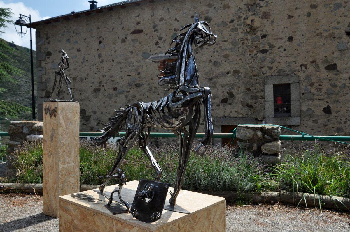 Le ferronnier d'art David Glasser