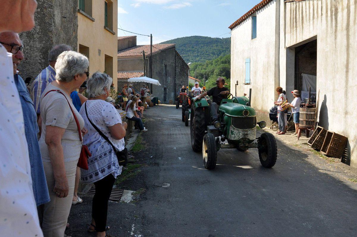 Les vieux tracteurs