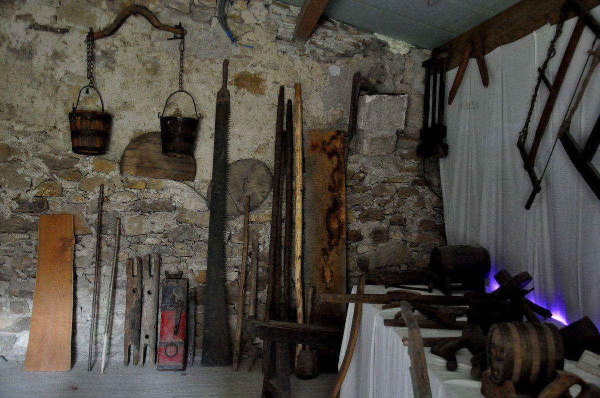 Les outils du bois.