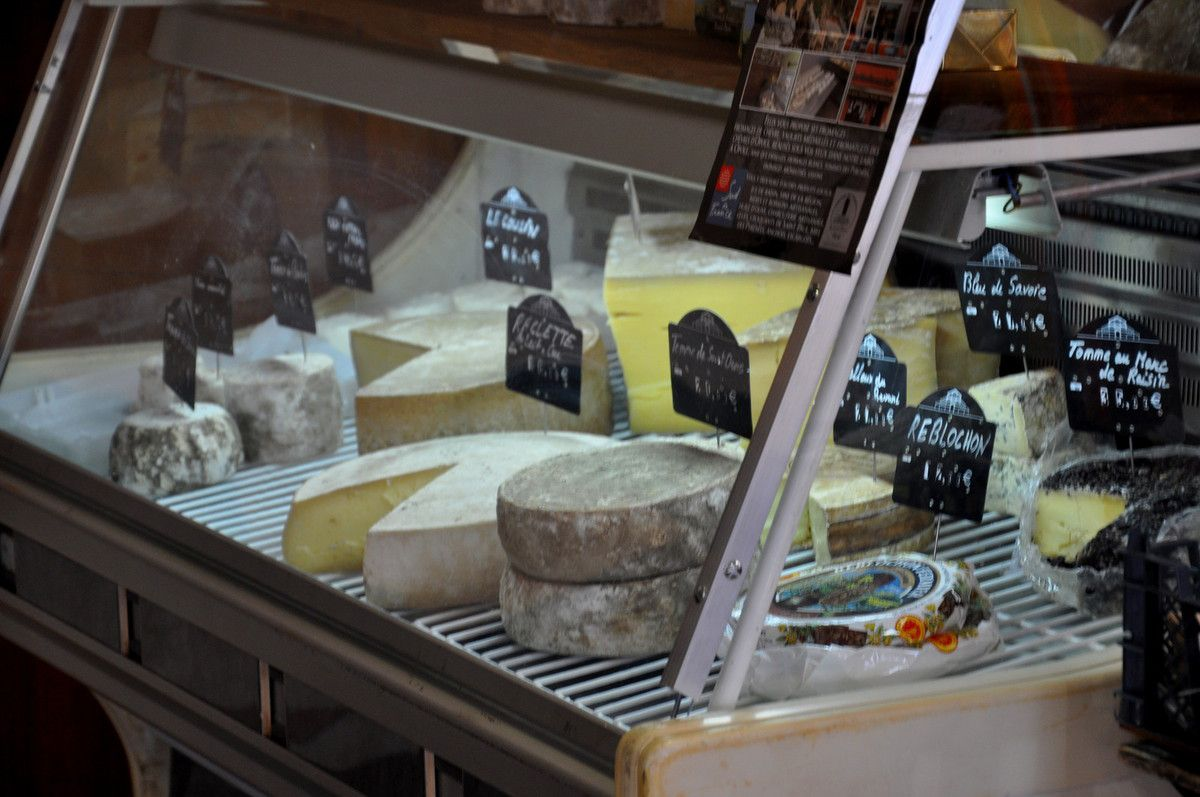 Les bons fromages.