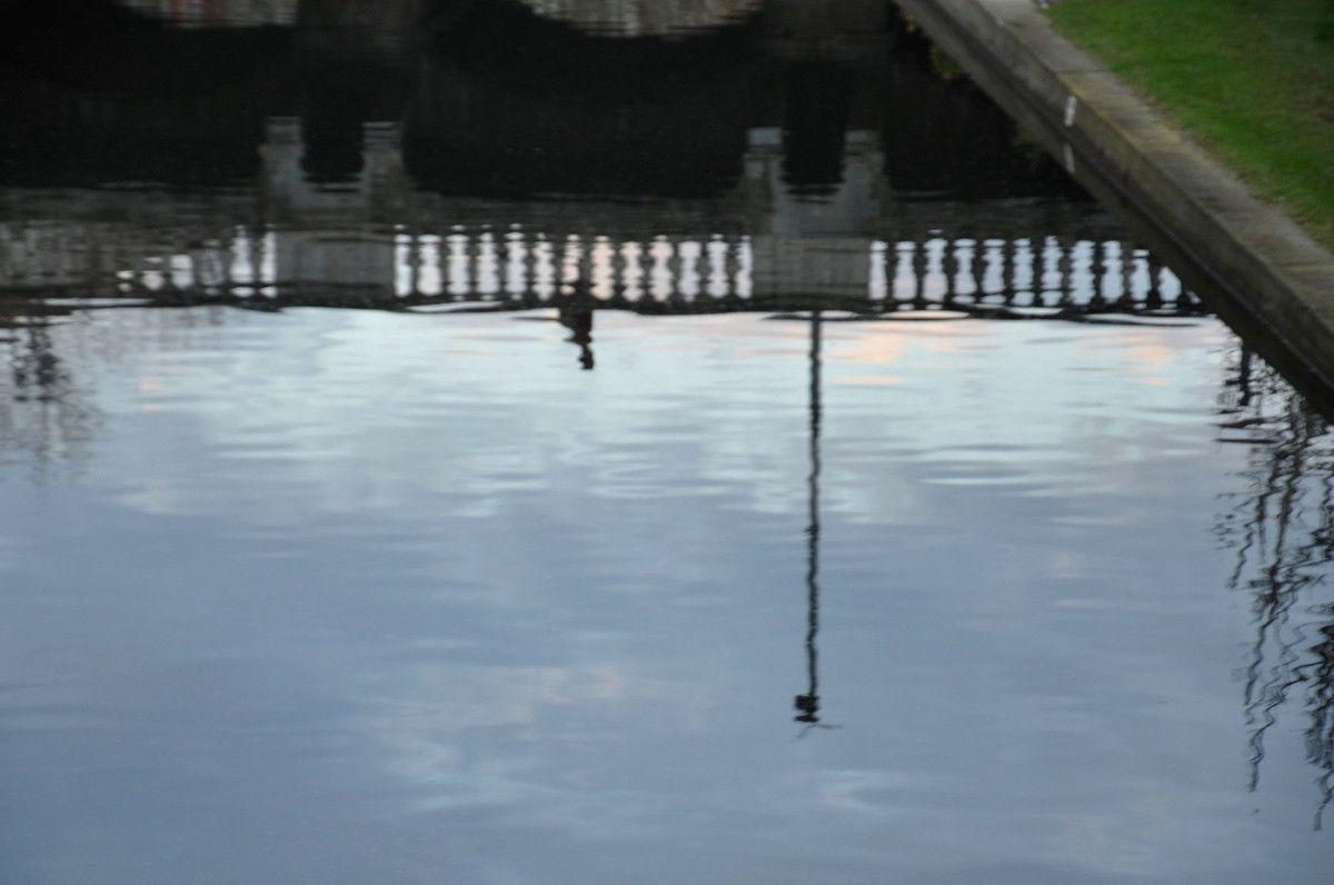 L'eau est bien basse aussi