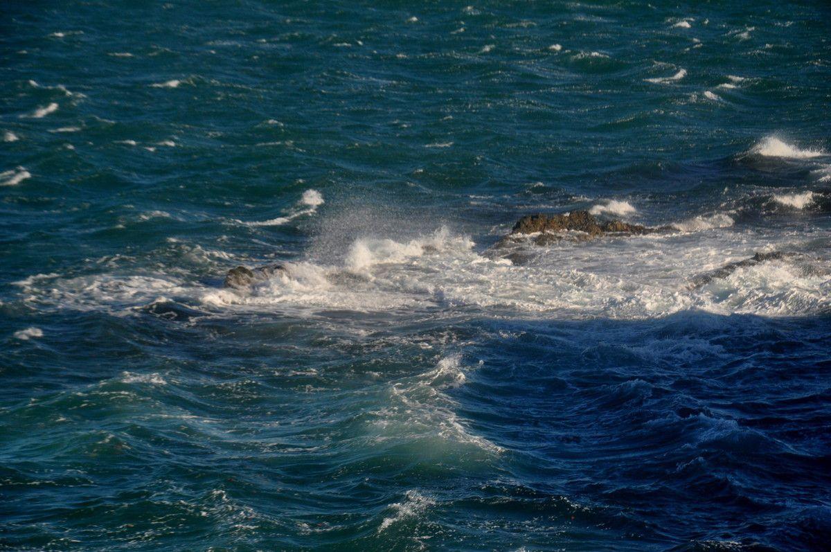 Que la mer est belle avec le vent