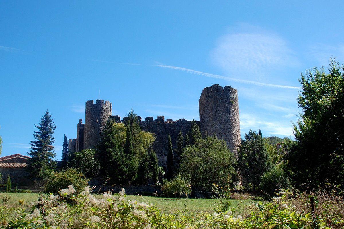 Le château de Villerouge