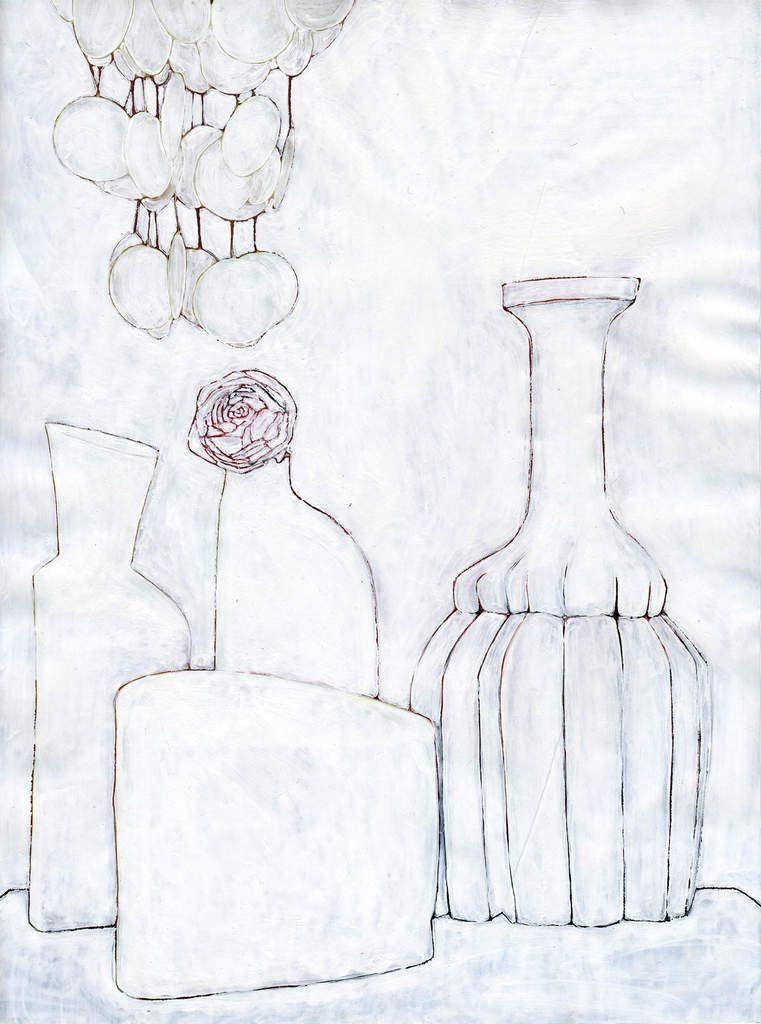 Xavier Theunis, Still, Life 17, 2006. Acrylique sur papier glacé, 29 x 21,8 cm © Courtésie de l'artiste & Backslash