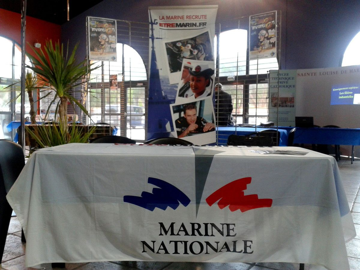38 Stand Marine Nationale - Béziers.
