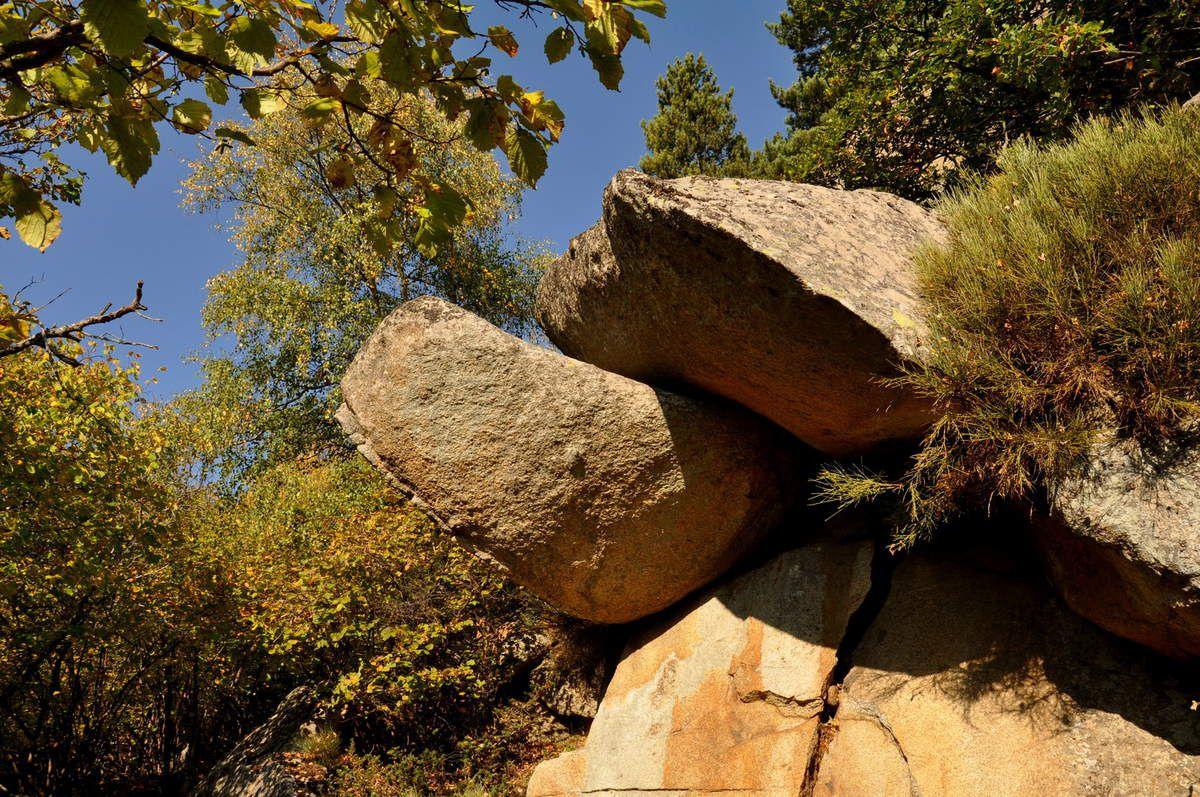 De bien beaux rochers